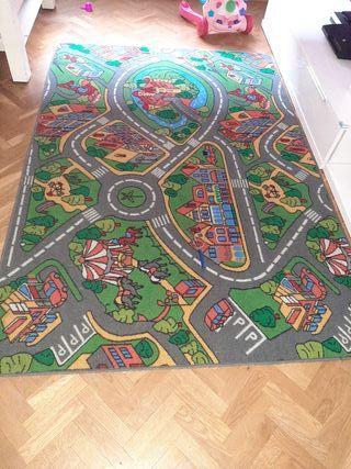 Alfombra Infantil Cuidad carreteras