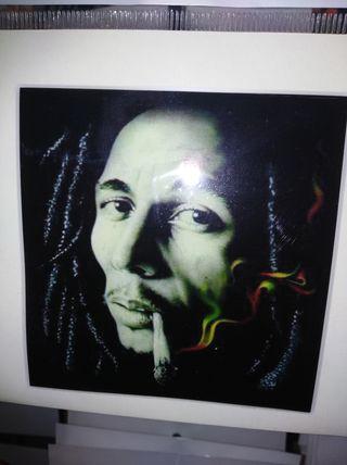 Pegatina Bob Marley