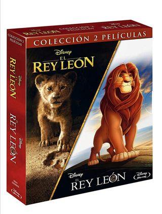 PACK EL REY LEÓN + EL REY LEÓN IMAGEN REAL BLU-RAY