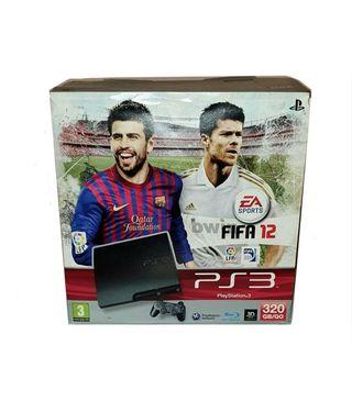 PS3 320GB Consola PlayStation 3 Edición FIFA 2012