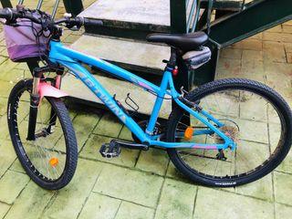 Bicicleta mujer del decatlón
