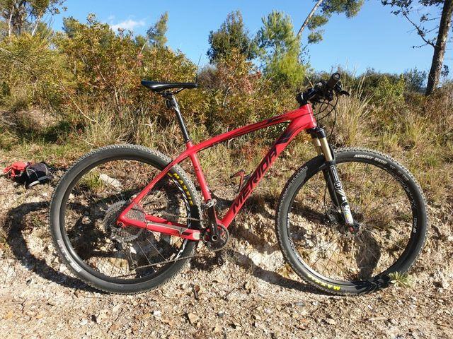 Bicicleta Merida carbono 29 talla L