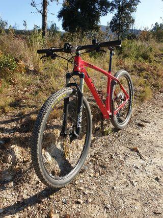 Bicicleta Merida Big Nine Carbono 29 talla L.