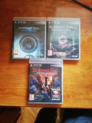 Pack Resident Evil PS3