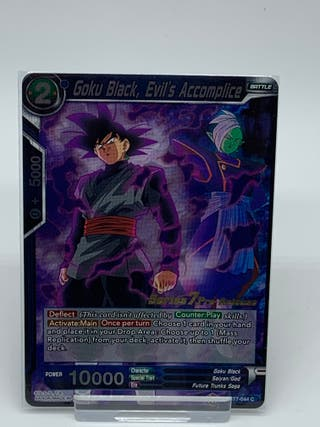 Goku Black, Evil's Accomplice - Dragon Ball Z