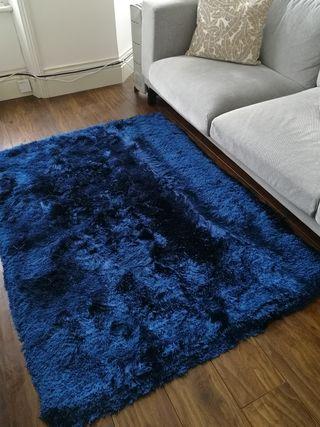 120x170 blue rug