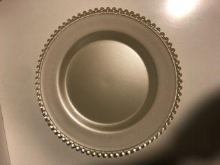 Plato Cristal/ Bandeja de aperitivo de cristal