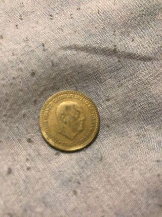 PESETA FRANCO 1966