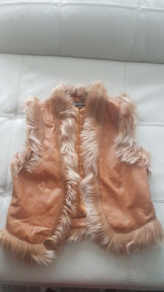 chaleco piel/ ideal disfraz vikingo