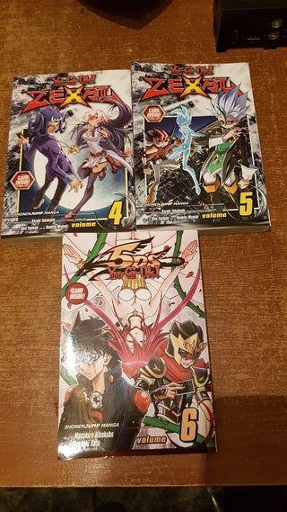 comics/manga yu-gi-oh zexal