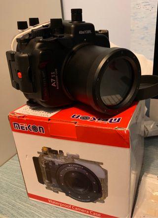 Sony A7 II Meikon Carcasa Buceo NUEVA !!