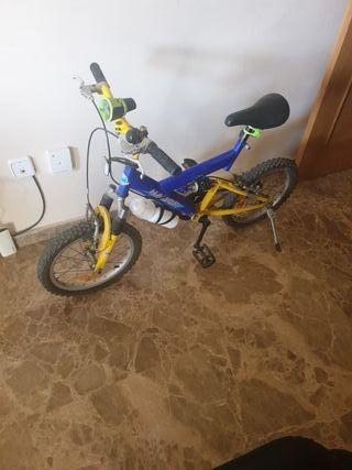 bici infantil 4-6 años.