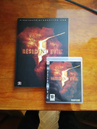 Resident Evil 5 y guía oficial PS3