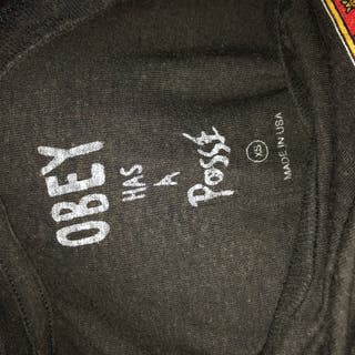 Camiseta Chica OBEY