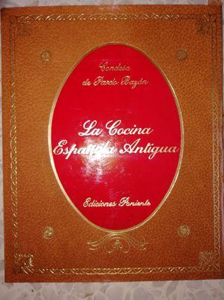 Libro de la cocina antigua 20€