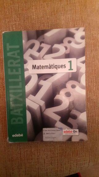 Matematiques 1 edebe batxillerat