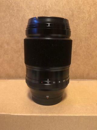 Objetivo Fujifilm 90 mm f2