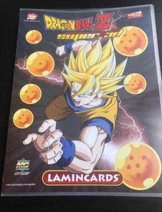 Album + cartas Dragon Ball Super 3d Laminacards