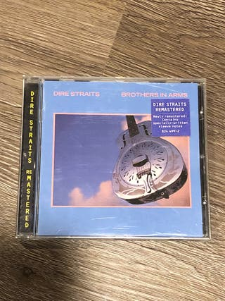 CD Dire straits Brothers in arms remastered