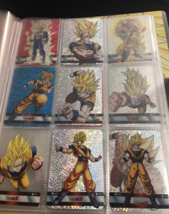 Album + cartas Dragon Ball Z Laminacards Platinum
