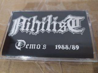 nihilist demos 88-89 cassete