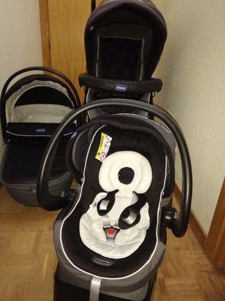 Carrito bebé 3 piezas Chicco
