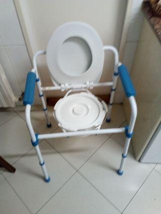 wc portátil para habitación