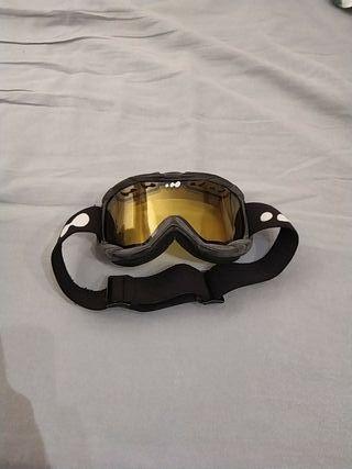 Mascara esquí y snow Wed'ze negra
