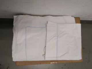 Sabanas cama individual algodón 100%