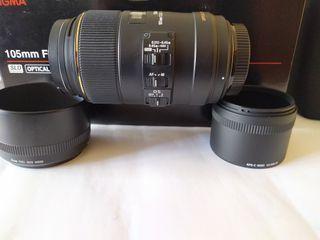 Sigma 105 mm EX DG OS f2'8 HSM sony A