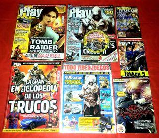 (1°)-Lote Revistas Retro videojuegos
