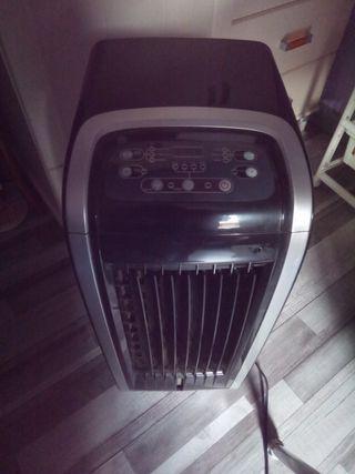 Calefactor aire climatizado y humidificador