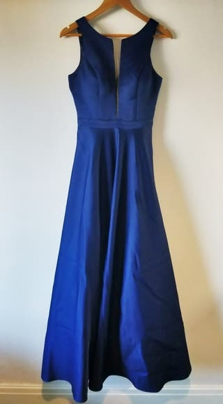 Navy Ball gown / Maxi dress