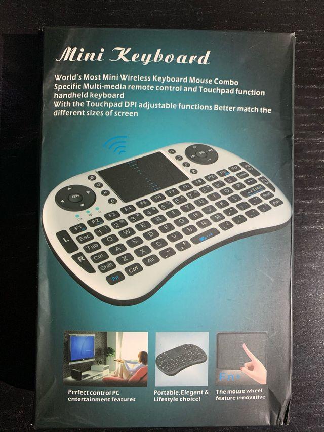 Teclado para TV, ordenador, ps4, tablet