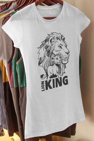 Camiseta Mujer Rey León NUEVA