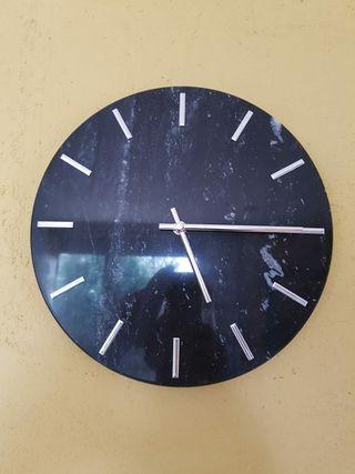 Reloj pared mármol