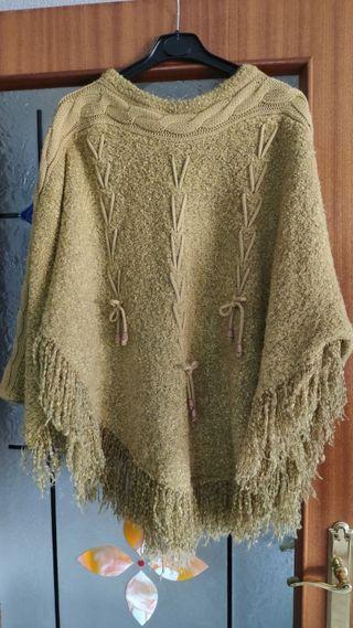poncho d lana