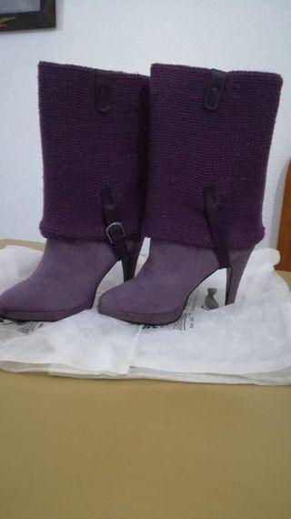 Botas mujer moradas n. 37
