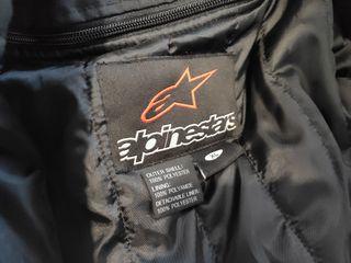chaqueta alpinestar con forro y protecciones