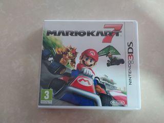 Videojuego Mario kart 7