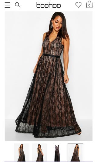 Lace Ball gown / Maxi Dress