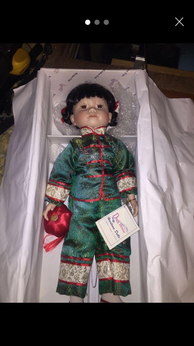 'Shirley' Duck house heirloom doll