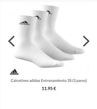 adidas nike calcetines de algodón originales