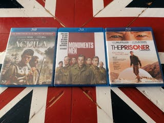 3 películas Blu-Ray 5 €