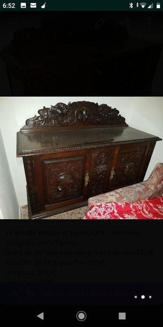 antigüedades muebles rústicos