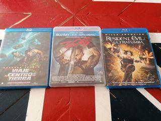 3 películas Blu-Ray 5
