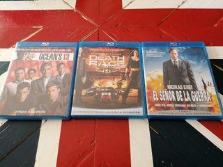 3 películas Blu-Ray a 5€