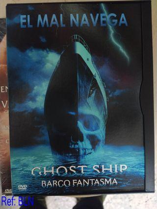 DVD GHOST SHIP BARCO FANTASMA