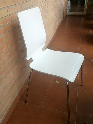 4 sillas cocina Ikea