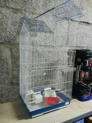 jaula para pájaros